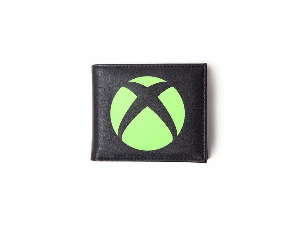 Peněženka otevírací XBOX: Logo (12 x 10 cm)