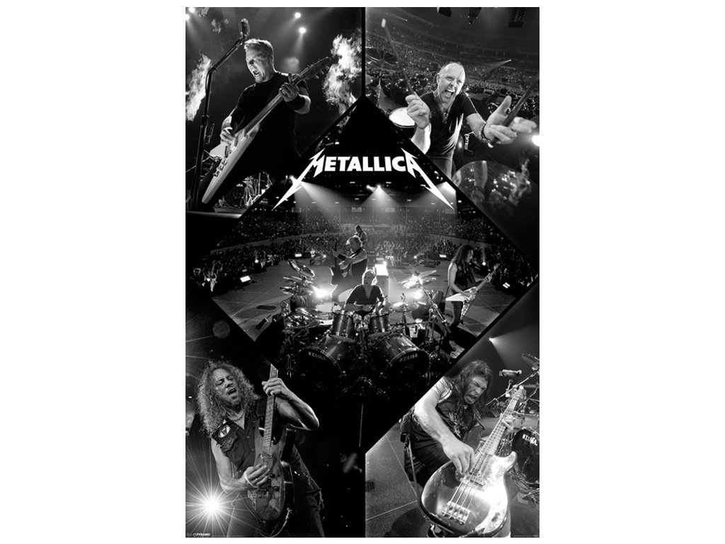 Plakát Metallica: Live (61 x 91,5 cm)