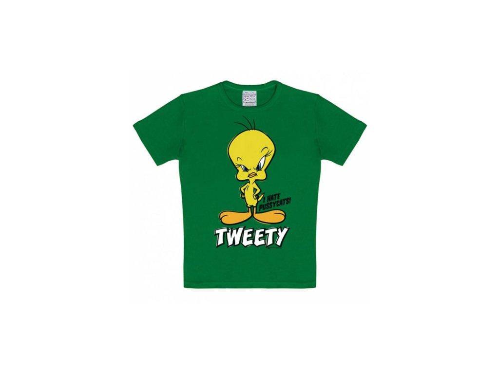 Dětské tričko Looney Tunes: Tweety (140-152 cm) bavlna