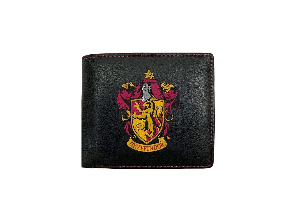 Peněženka Harry Potter: Gryffindor - Nebelvír znak (11 x 9 cm) černá