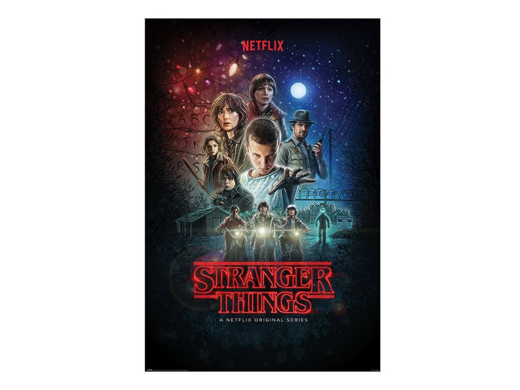 Plakát Stranger Things: One Sheet (61 x 91,5 cm)