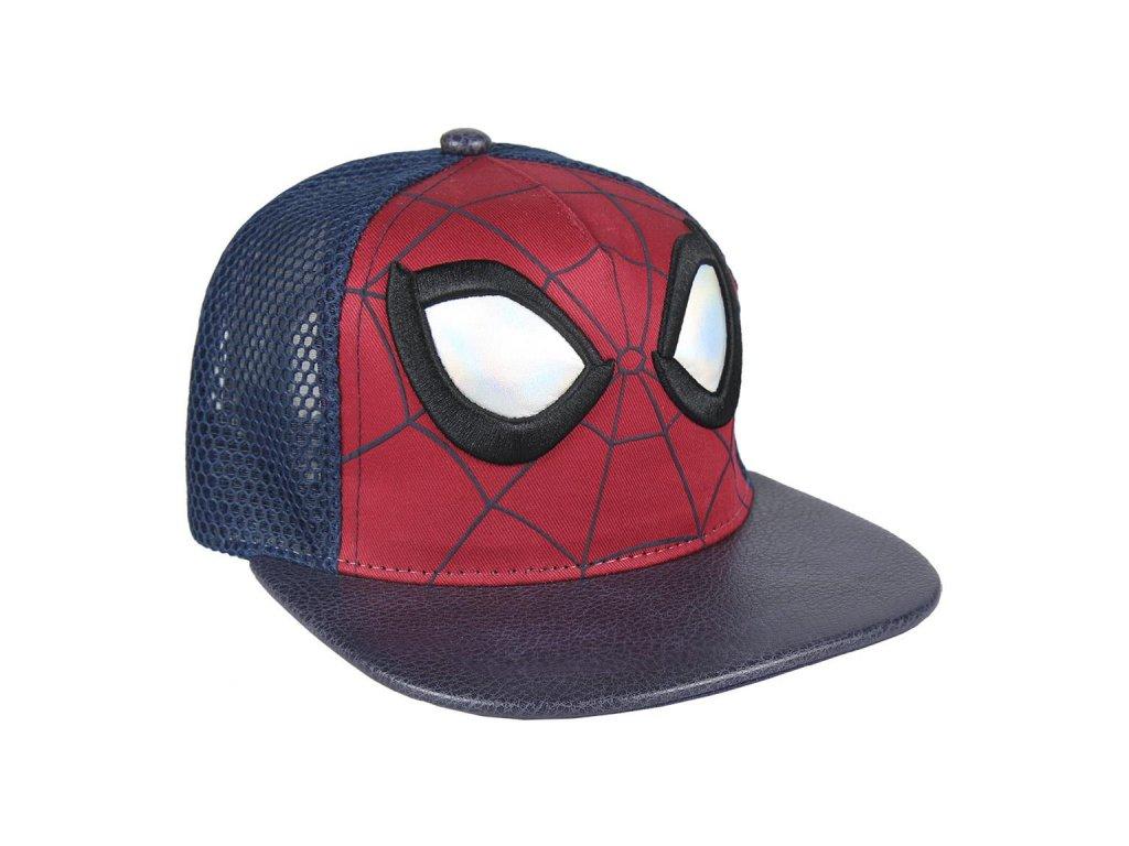 Čepice snapback - kšiltovka Marvel|Spiderman: 3D Face (57-59 cm|nastavitelná)