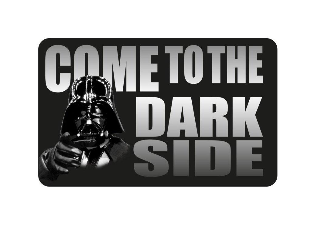 Kobereček Star Wars|Hvězdné války: Come To The Dark Side (80 x 50 cm) polyester