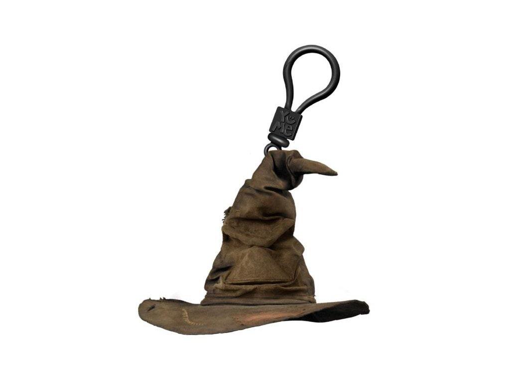 Mluvící přívěsek na batoh Harry Potter: Sorting Hat (výška 10 cm)