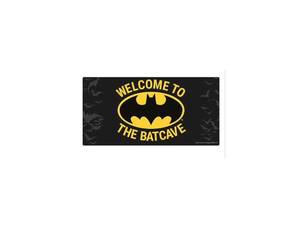 Cedule na zeď Batman: Welcome To The Batcave (30 x 60 cm)