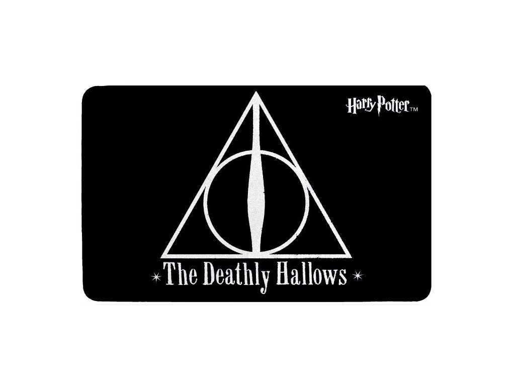 Kobereček Harry Potter: Deathly Hallows (80 x 50 cm) polyester