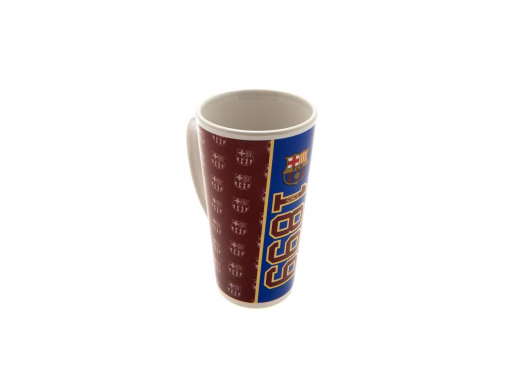 Keramický latte hrnek FC Barcelona: Established (objem 480 ml)