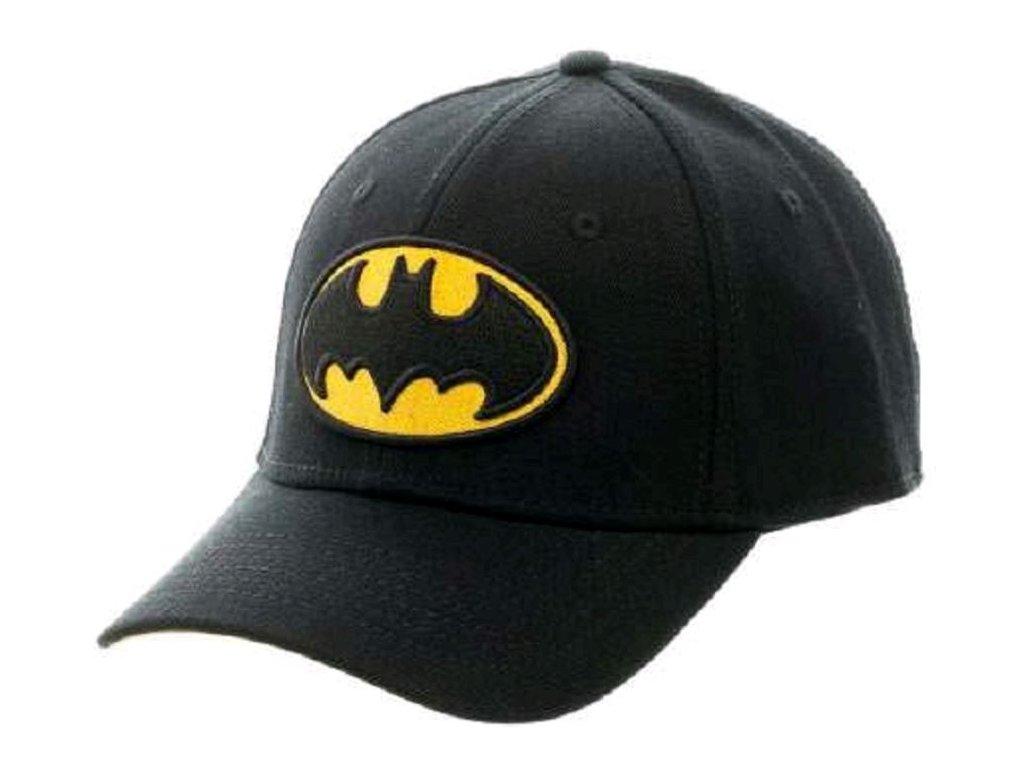 Kšiltovka DC Comics|Batman: Logo (nastavitelná)