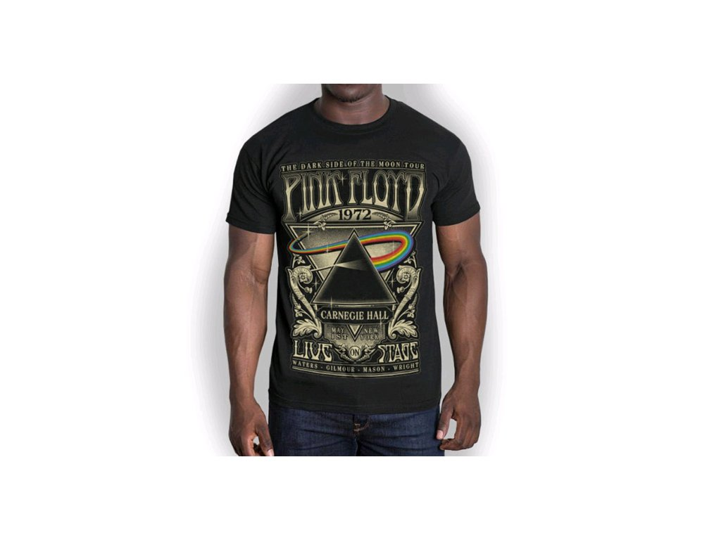 Pánské tričko Pink Floyd: Carnegie Hall