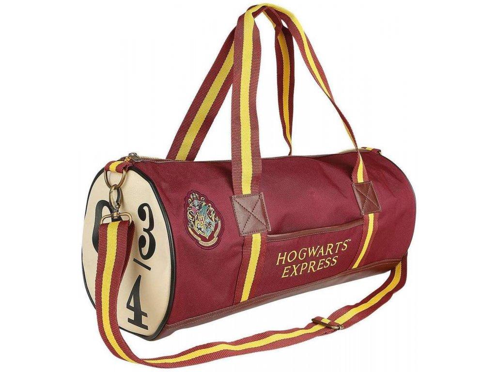Cestovní taška na rameno Harry Potter: Hogwarts Express 9 3/4 (33 litrů|49 x 26 x 26 cm) červená