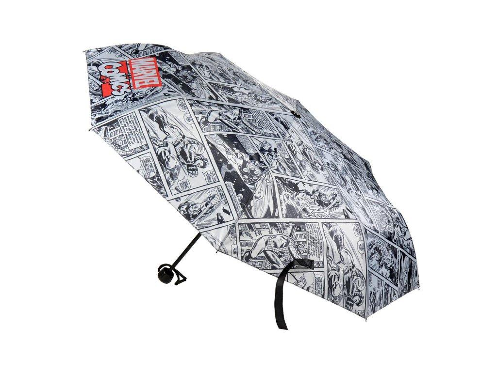 Skládací deštník Marvel Comics: Komiksový celopotisk (průměr 108 cm)
