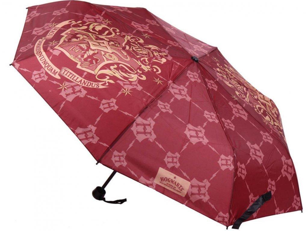 Skládací deštník Harry Potter: Hogwarts (délka 53 cm)