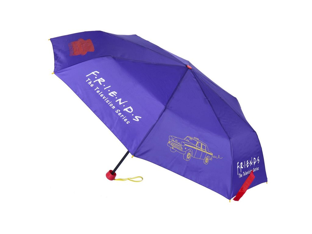 Skládací deštník Friends|Přátelé: (délka 53 cm)