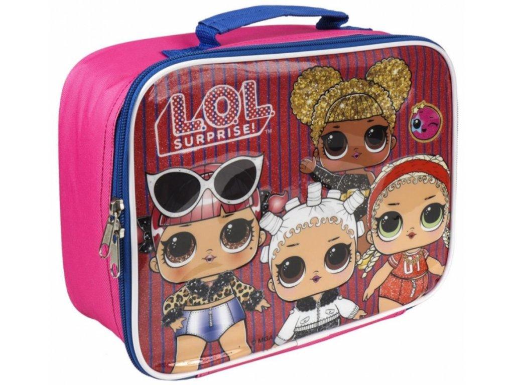 Termo box - taška na svačinu LOL Surprise: Dolls (24 x 20 x 10 cm) polyester