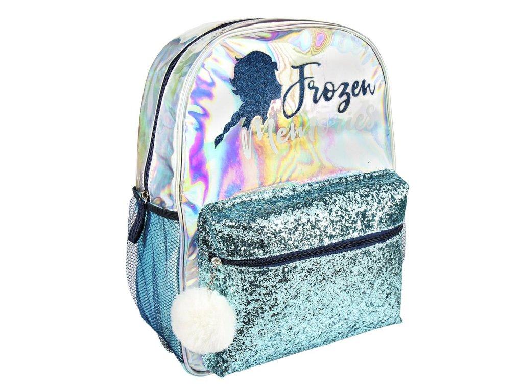 Dětský batoh Frozen II|Ledové království 2: Brillante (objem 16 litrů|31 x 40 x 13 cm) multicolor polyester PVC PU