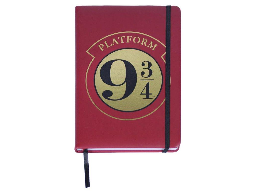 Poznámkový blok Harry Potter: Nástupiště 9 3/4 (A5 14,8 X 21 cm)