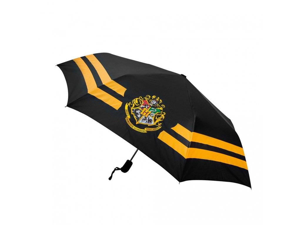 Skládací deštník Harry Potter: Erb Bradavic - Hogwarts (průměr 112 cm)