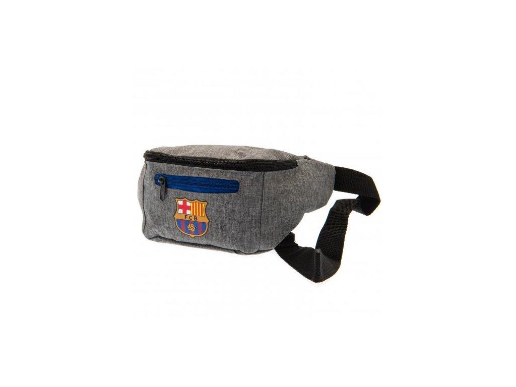 Ledvinka FC Barcelona: Znak (28 x 10 x 8 cm) šedý polyester