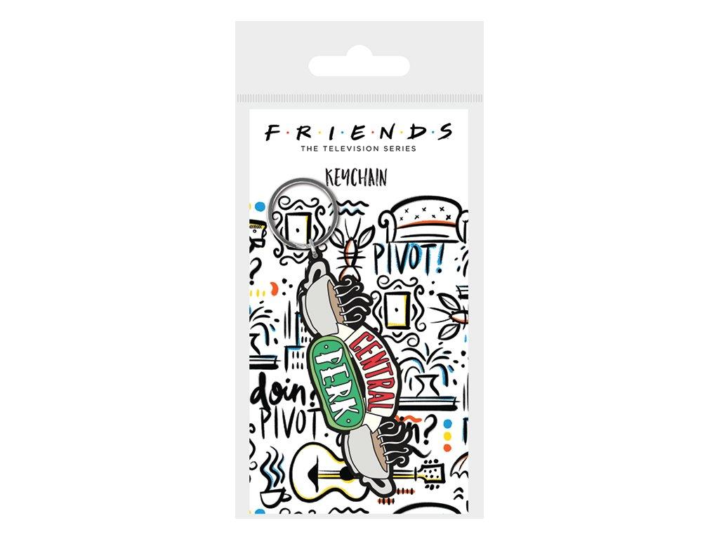 Přívěsek na klíče Friends Přátelé: Central Perk (5 x 6 cm)