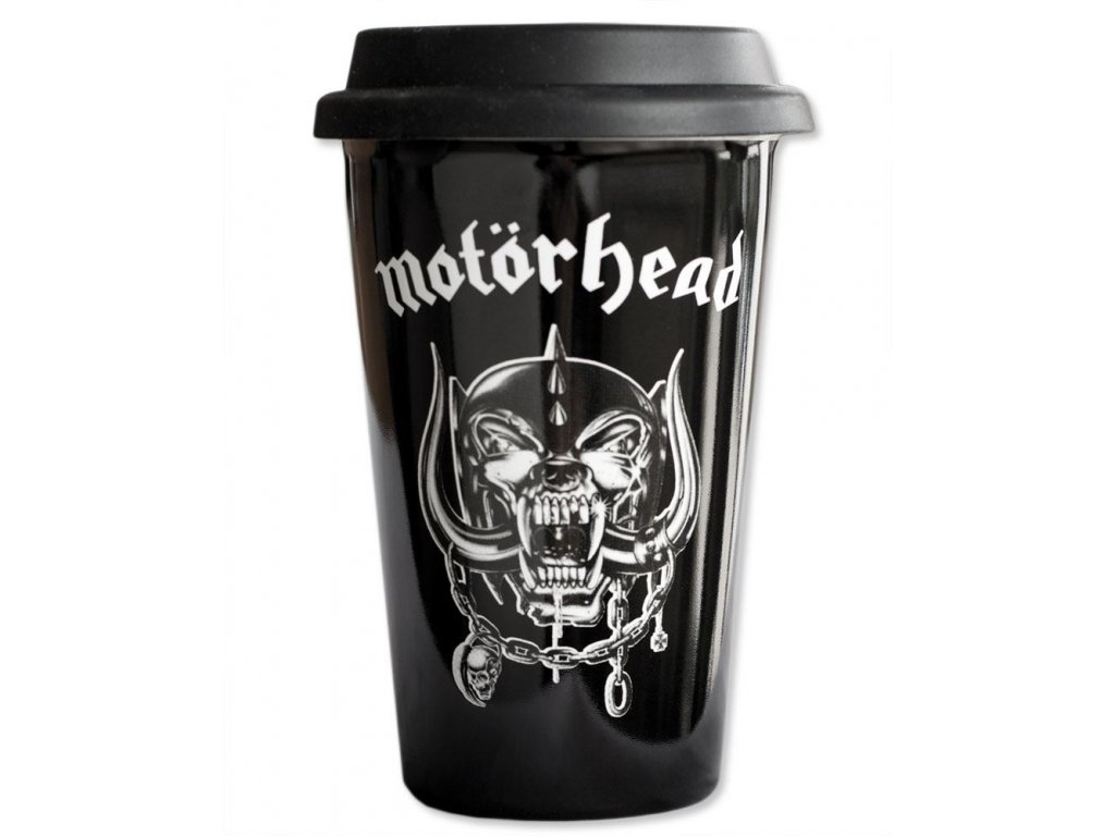 Keramický cestovní hrnek Motörhead: Logo (objem 300 ml)