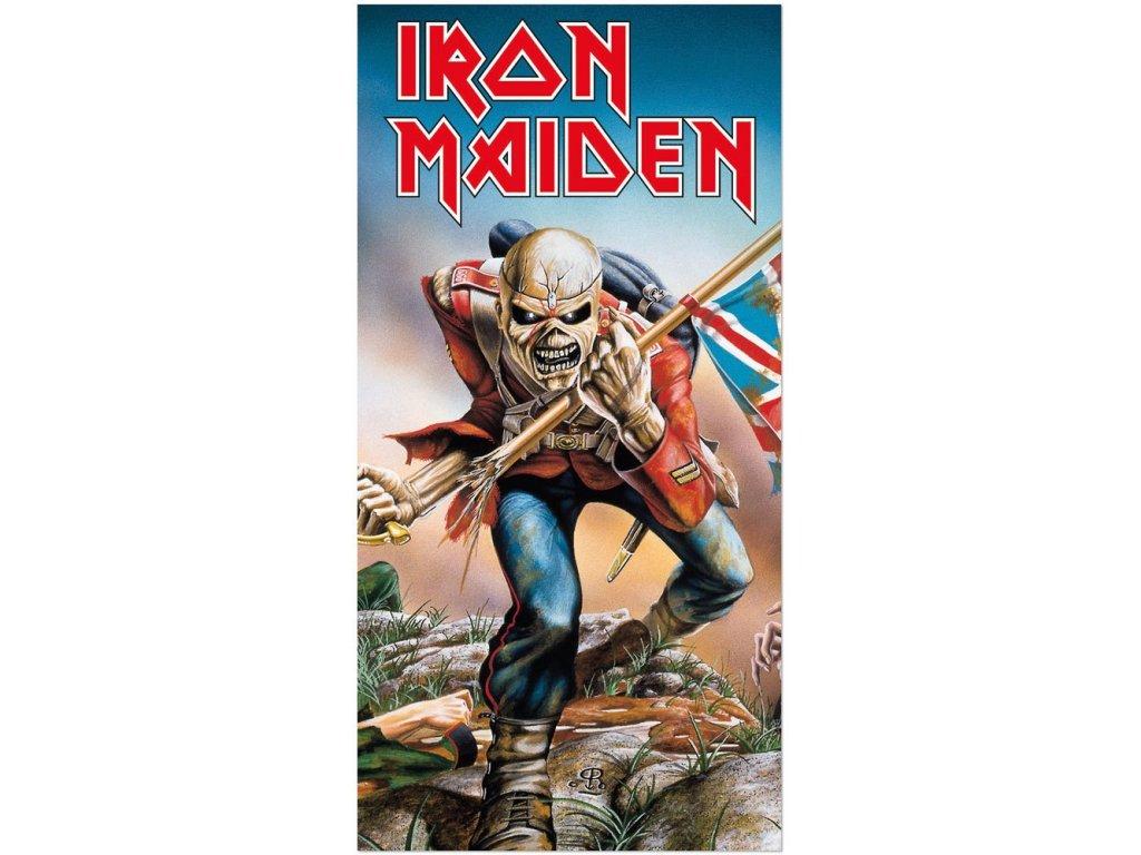Osuška - ručník Iron Maiden: Trooper (150 x 75 cm) bavlna