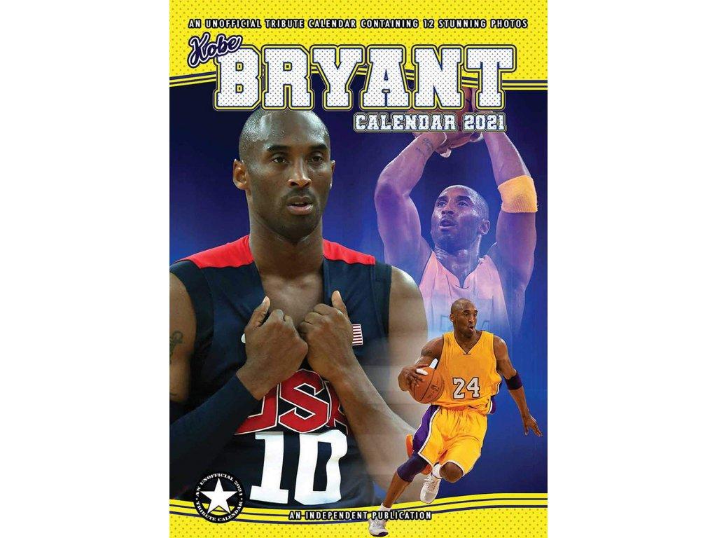 Kalendář 2021: Kobe Bryant (A3 29,7 x 42 cm)