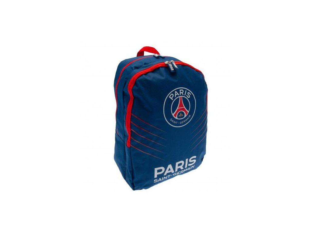 Batoh FC Paris Saint Germain: Logo (objem 20,5 litrů,30 x 38 x 18 cm) modrý nylon