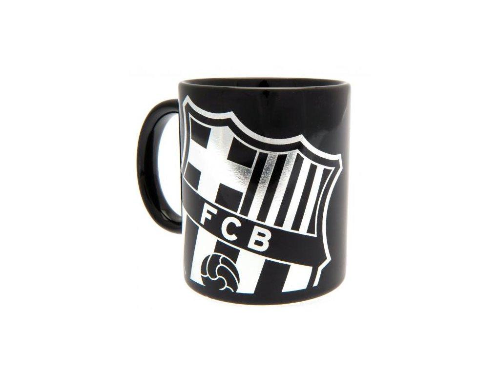 Keramický hrnek FC Barcelona: Znak (objem 325 ml) černý