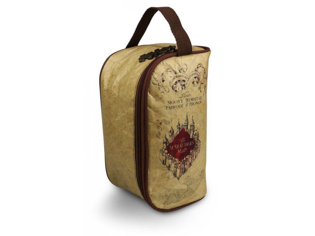 Dámská kosmetická taška Harry Potter: Marauder's Map (25 x 13 x 12 cm)