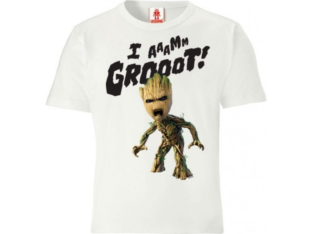 Dětské tričko Marvel|Guardians Of The Galaxy|Strážci Galaxie: Groot  bavlna