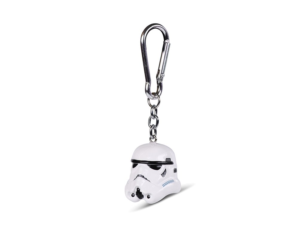 Přívěsek na klíče Star Wars Hvězdné války: Stormtrooper (4 x 4 cm)
