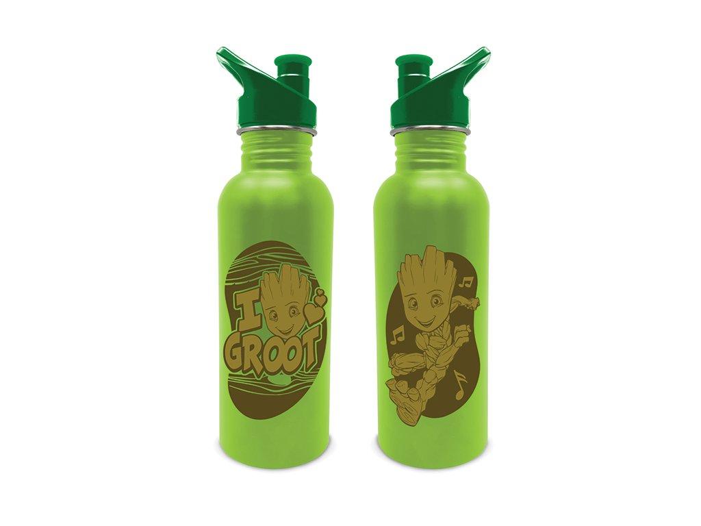 Nerezová outdoor láhev na pití Marvel|Guardians Of The Galaxy|Strážci Galaxie: Groot (objem 700 ml)