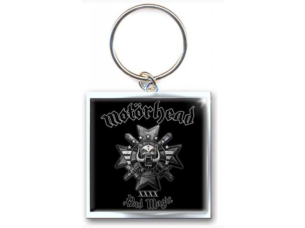 Klíčenka Mötorhead: Bad Magic (5 x 3 cm)