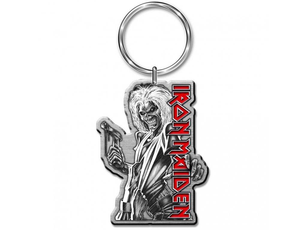 Přívěsek na klíče Iron Maiden: Killers (3 x 5 cm) kovový