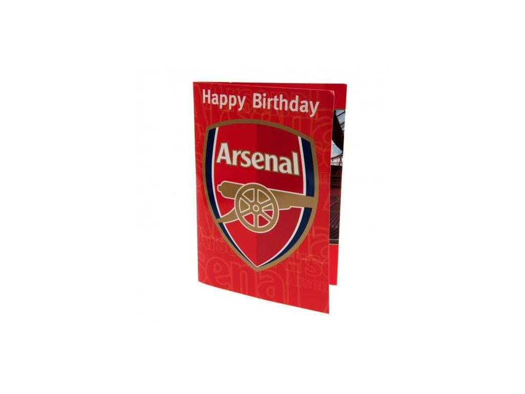 Blahopřání k narozeninám Arsenal FC hrací