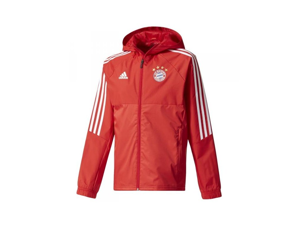 Bunda Adidas Bayern Mnichov rain 17/18 Jr