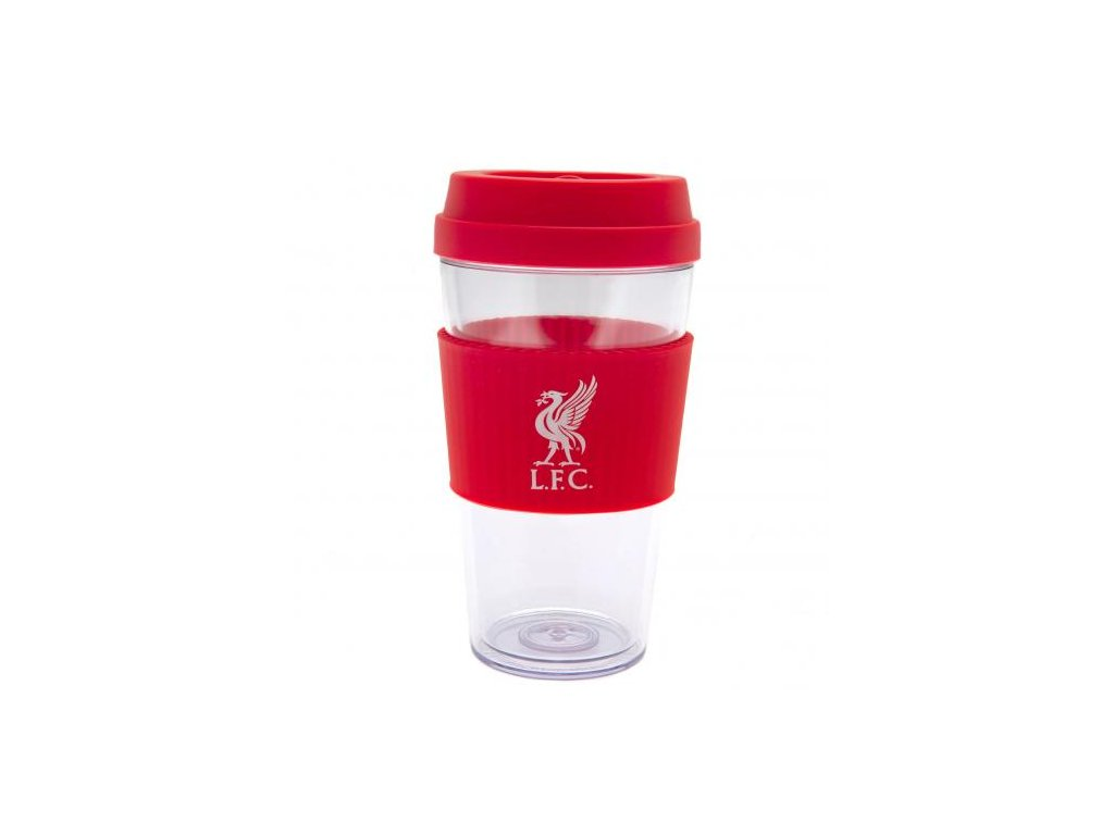 Cestovní hrnek Liverpool FC Grip 400ml Clean