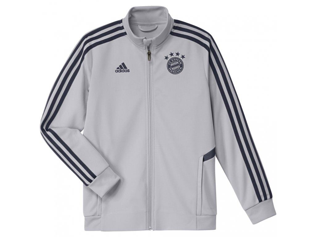 Dětská bunda Adidas Bayern Mnichov 19/20 grey