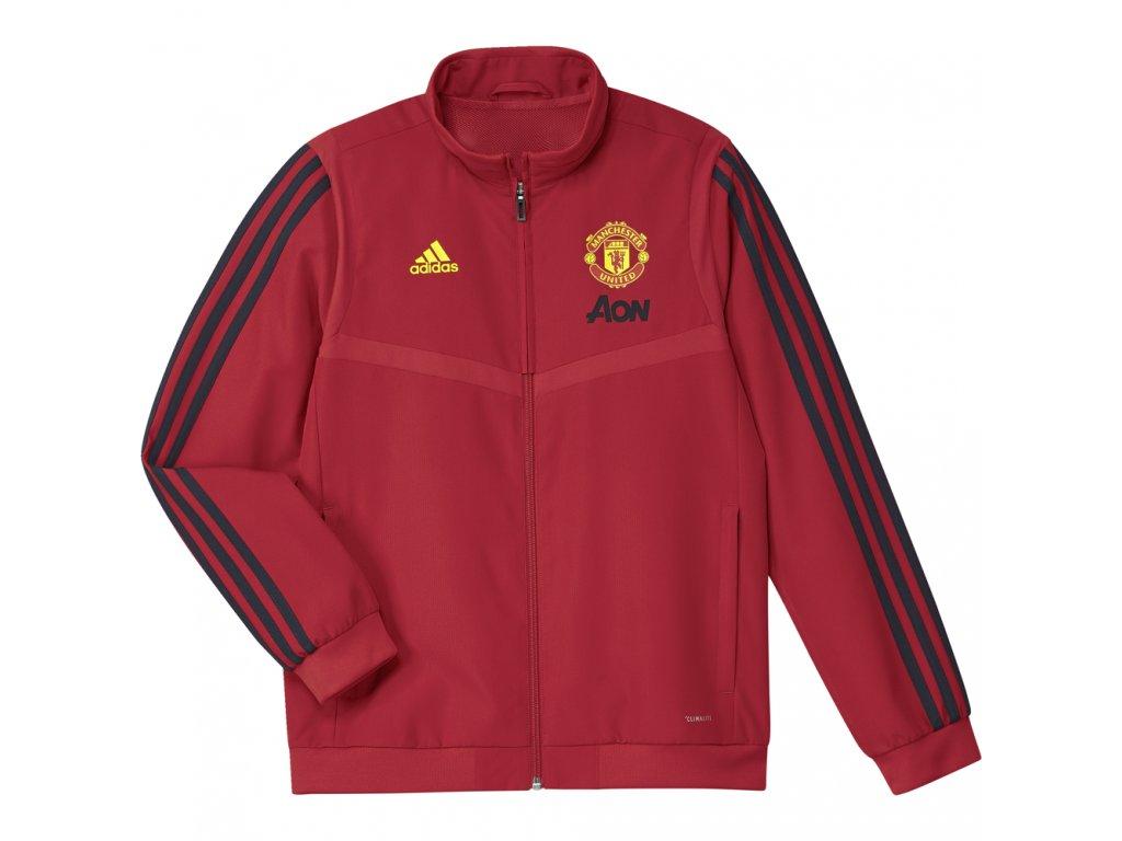 Dětská bunda Adidas Manchester United 19/20 červená
