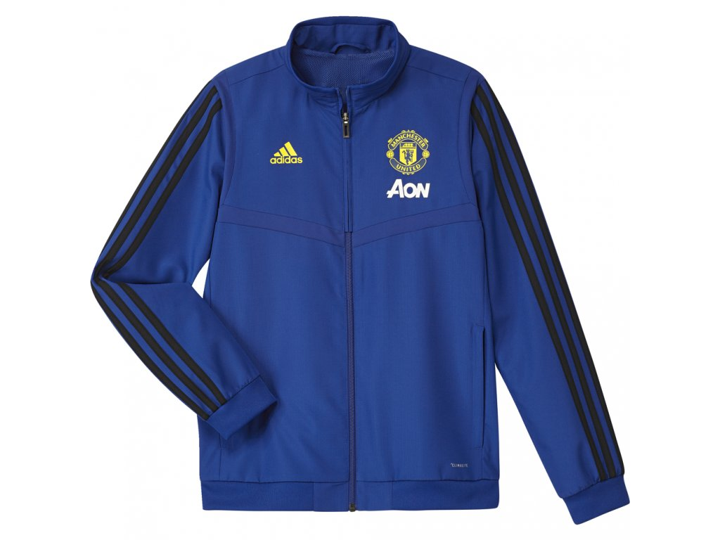 Dětská bunda Adidas Manchester United 19/20 modrá