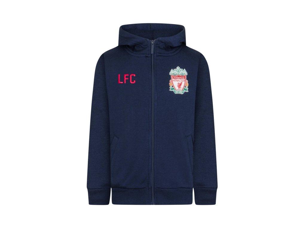 Dětská mikina Liverpool FC 20 tmavě modrá