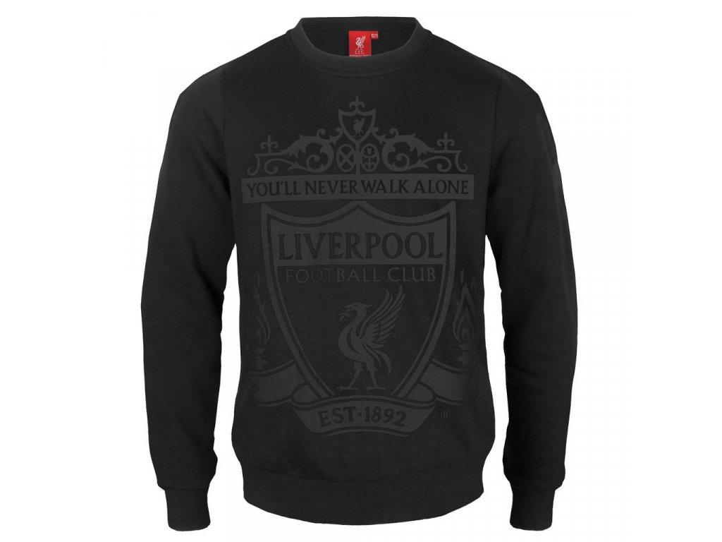 Dětská mikina Liverpool FC silver