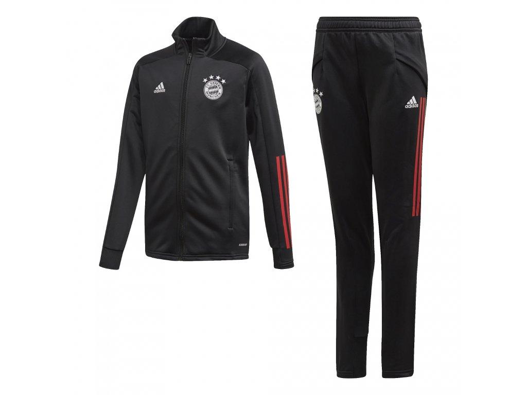 Dětská tréninková souprava adidas FC Bayern Mnichov 20/21 black