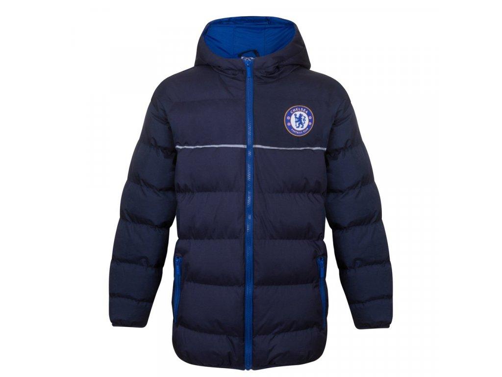 Dětská zimní bunda Chelsea FC navy