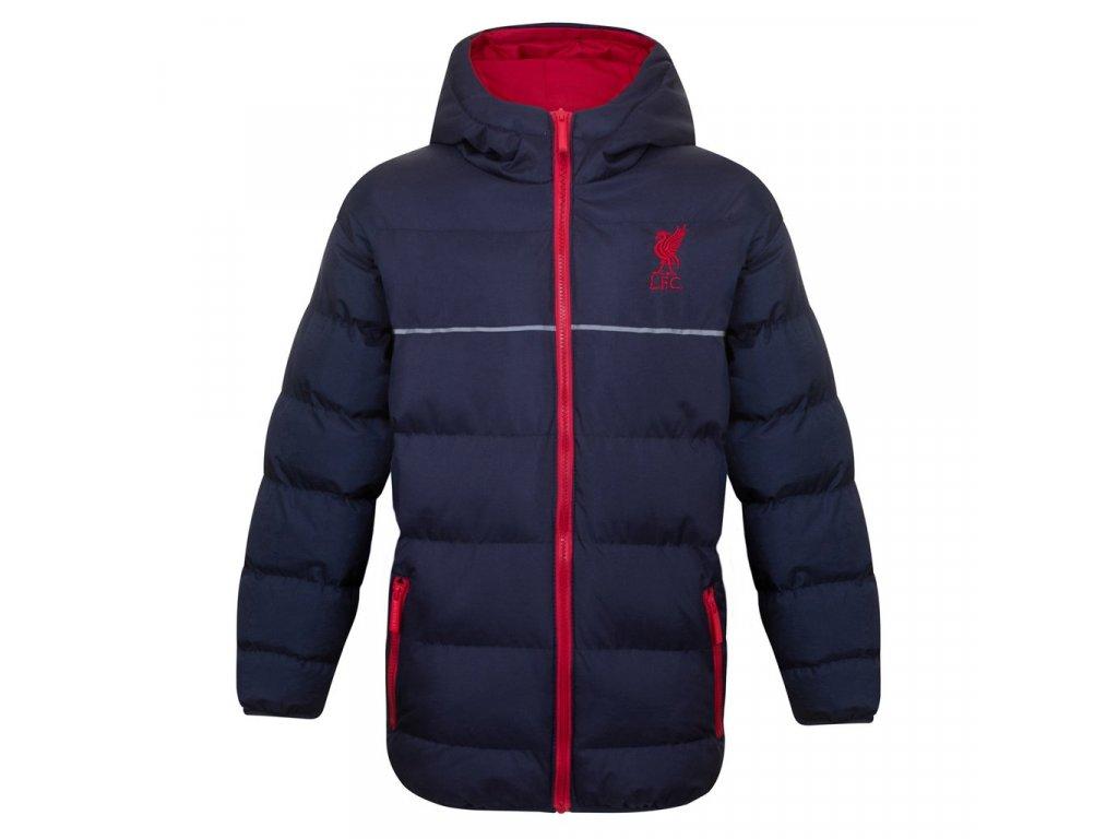 Dětská zimní bunda Liverpool FC navy