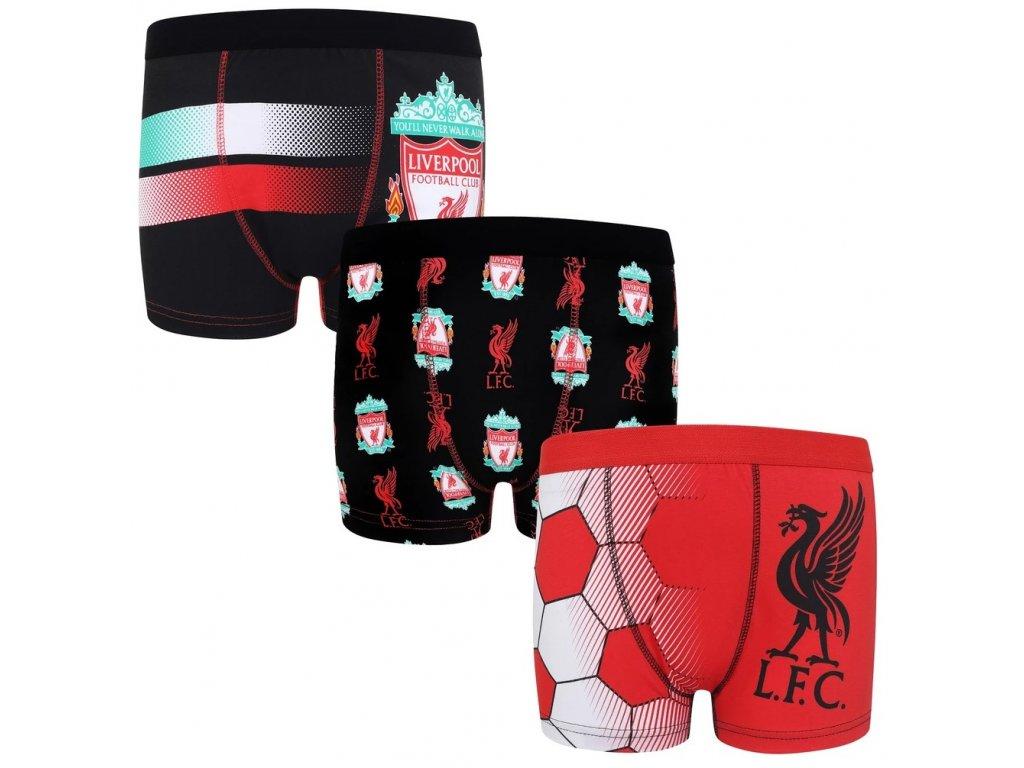 Dětské boxerky Liverpool FC 3pk