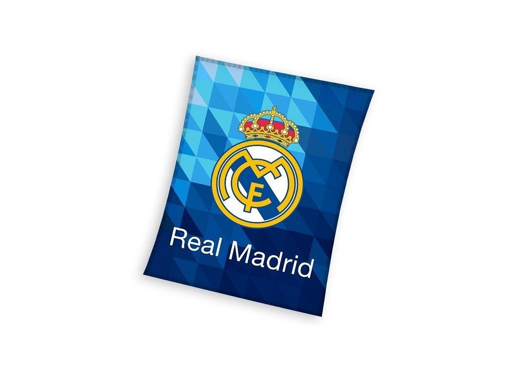 Fleecová deka Real Madrid 19 maxi 150x200cm