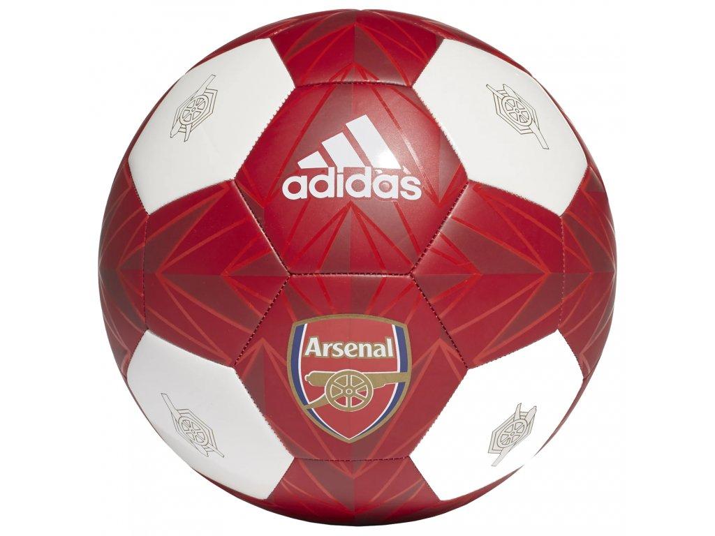 Fotbalový míč Adidas Arsenal FC 20/21 scarlet vel.5