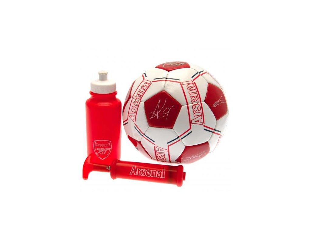 Fotbalový set Arsenal 19 podpisy