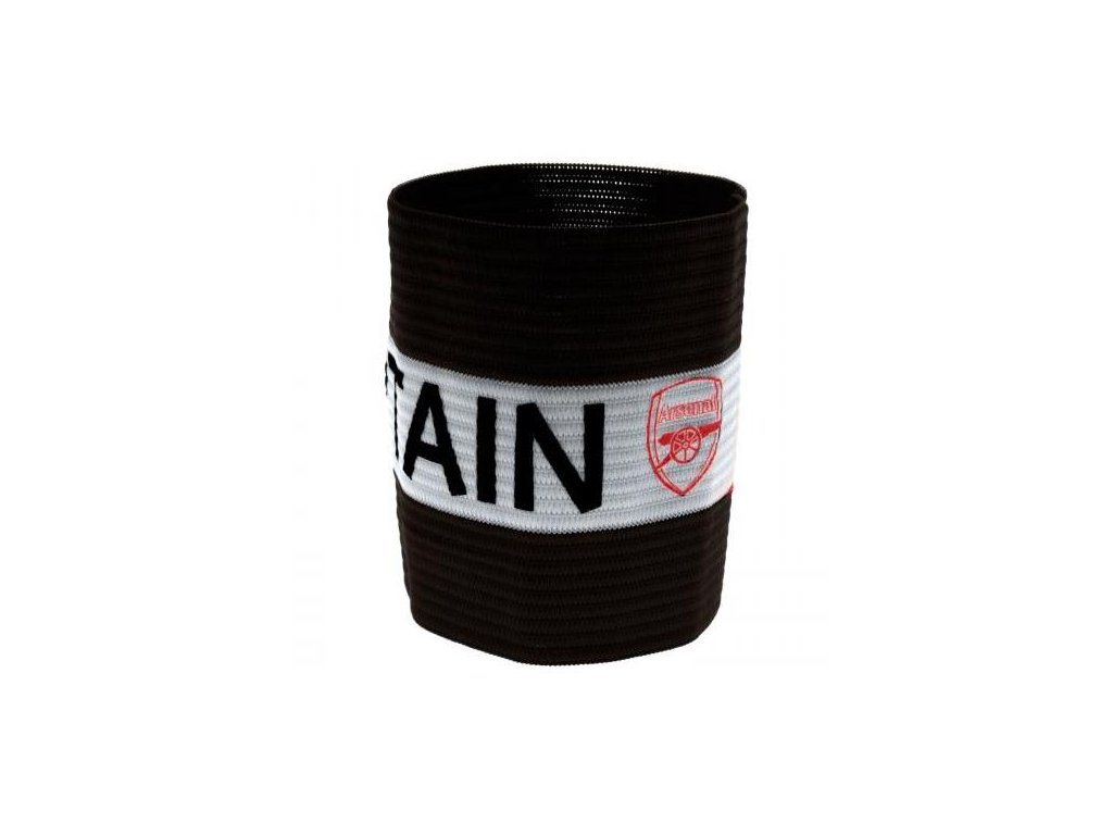 Kapitánská páska Arsenal Fc black